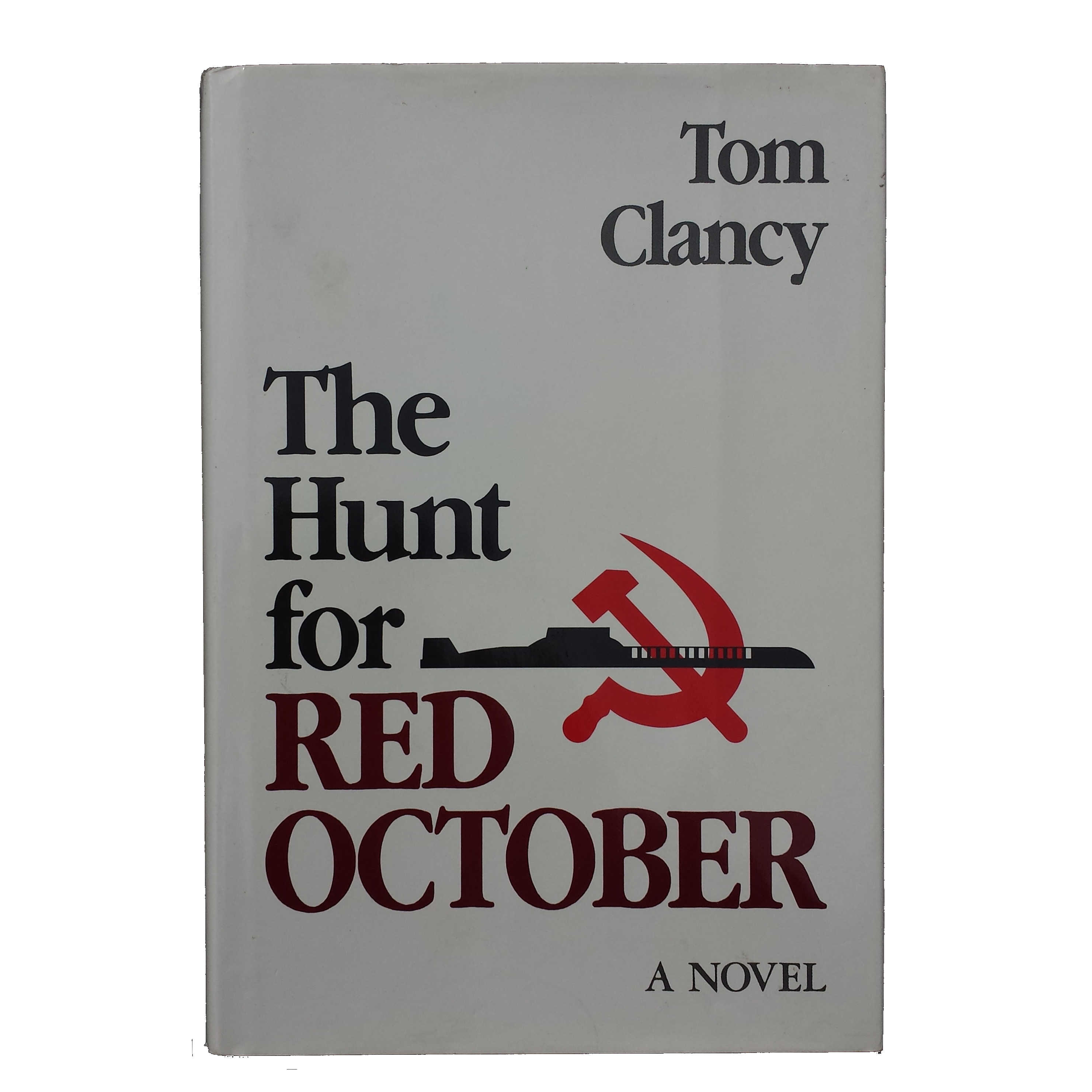 the hunt for red october by tom clancy essay The #1 new york times bestseller that launched the phenomenal career of tom  clancy—a gripping military thriller that introduced the world to his.